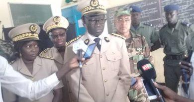 Présidentielle: Plus de mille gendarmes, policiers et militaires mobilisés à Kaolack