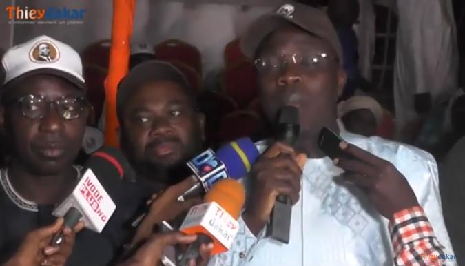 """Vidéo-Réélection de Macky: """"Rahma"""" loue le travail abattu par les maires du Saloum"""