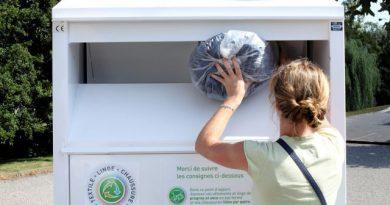 Une jeune femme meurt coincée dans un collecteur de vêtements