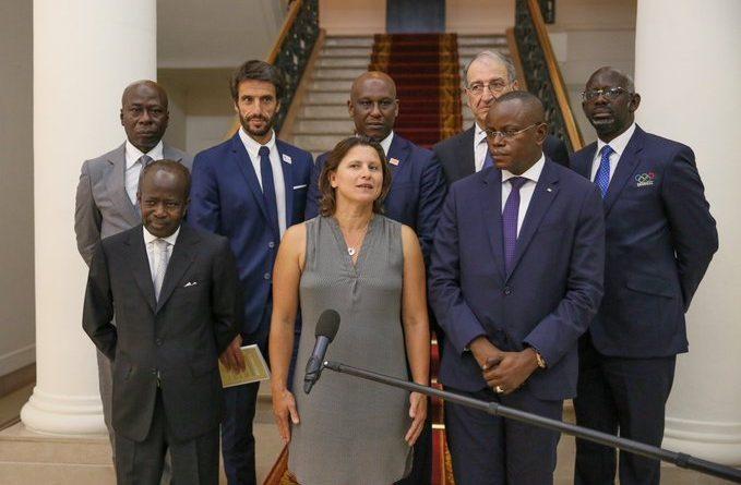 Paris et Dakar s'associent pour les JO-2024 et ceux de la jeunesse en 2022