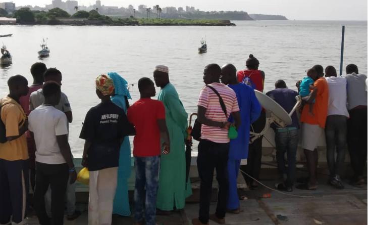 Vidéo-Drame à l'île de la Madeleine: le Quai de pêche pris d'assaut